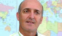 Juan Carlos González, delegado del Centro Logístico de Ayuda Humanitaria de La Cruz Roja y de la Media Luna Roja de Canarias