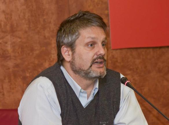 Pablo Yuste, responsable del Depósito de Respuesta Humanitaria del Programa Mundial de Alimentos que las Naciones Unidas