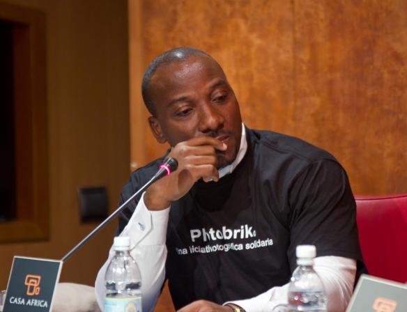 Marc Euler Ble, Presidente de ACAMARFIL y vicepresidente de la Federación de Asociaciones Africanas en Canarias.
